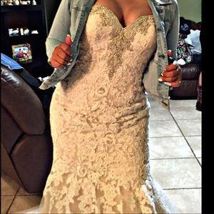 Maggie Sottero Dresses - Maggie Sottero Size 12 mermaid wedding dress.